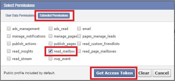 Reading your Facebook messages stealthy – Ankur's Blog
